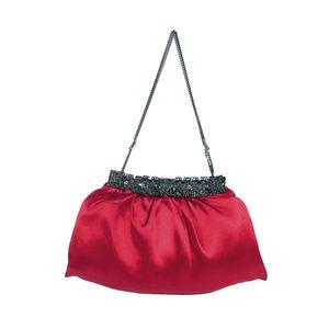 CLARA KASAVINA Mini Satin Swarovski Crystal Bag